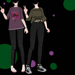 [MMD] [DL] #1 Outfits DL