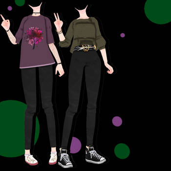 [MMD] [DL] #1 Outfits DL by Natsumy-Paradise