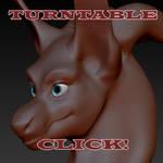 Cineera 3D bust sculpt - Turntable