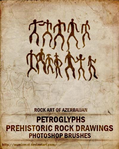 by ~ Numizmat Prehistoric_rock_drawings_by_Numizmat