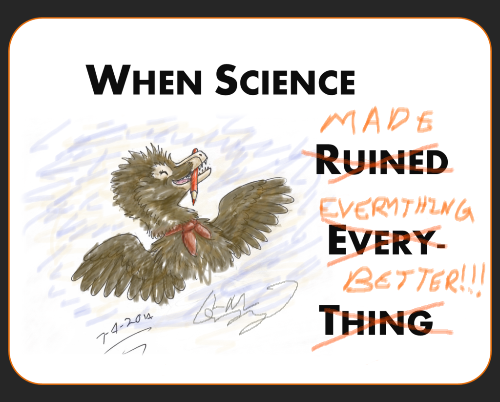 When Science...