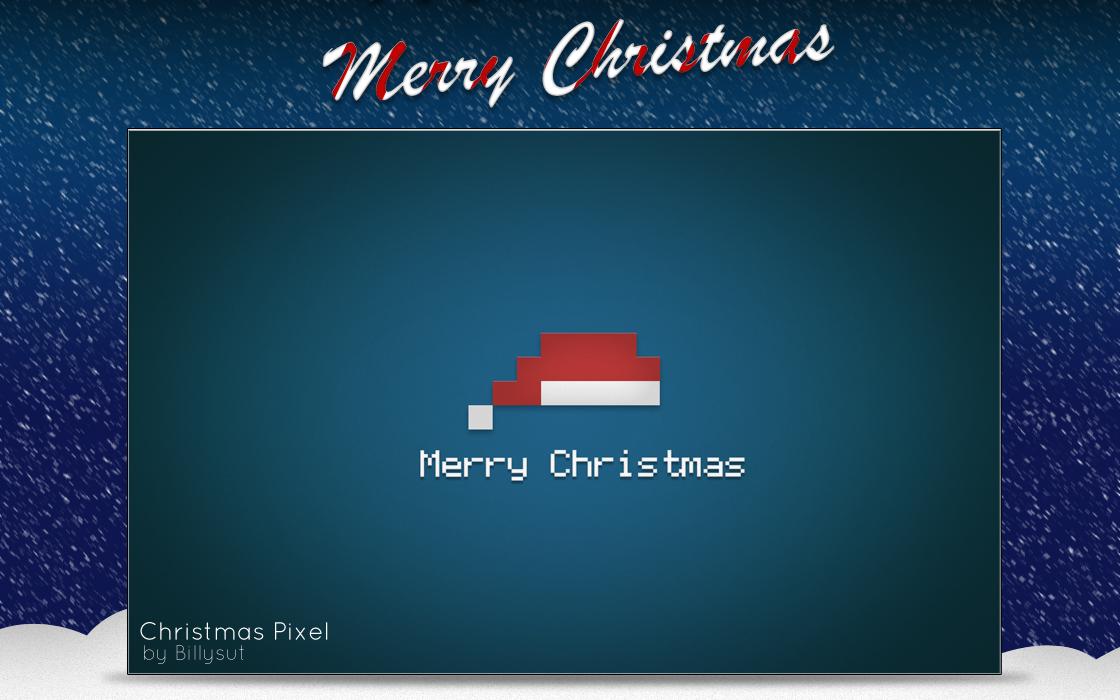 Christmas Pixel by Billysut