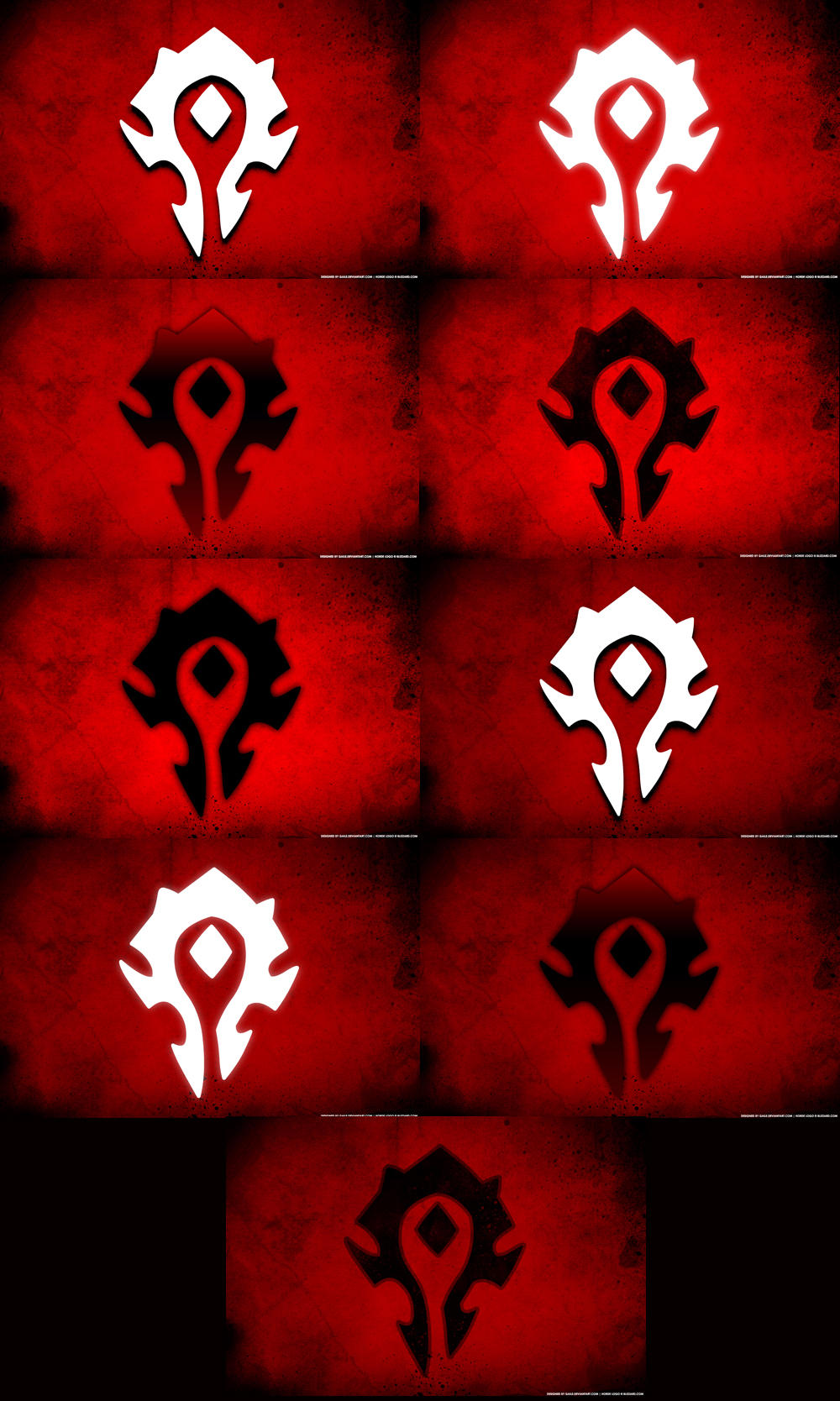 Horde The Pro Side By Gaile On Deviantart