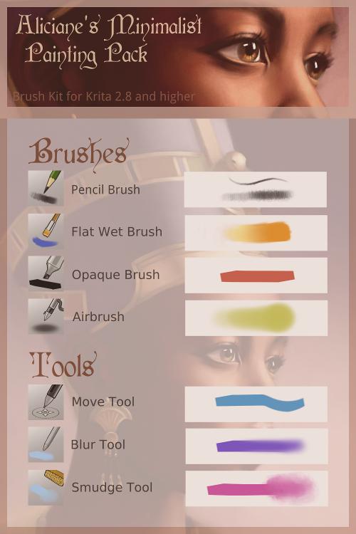 Krita: Minimalist Brush Pack (Updated)