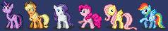 Pixel Pony Smilies