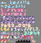 100 Pony Smilies -update