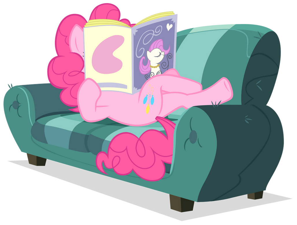 Pinkie reading by Stinkehund