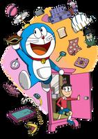 Doraemon and Nobita by FTFTheAdvanceToonist