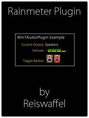 Windows 7 Audio Plugin by Reiswaffel