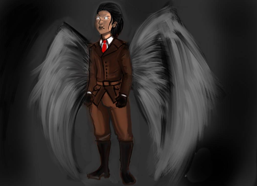The white angel of death by malvaren94