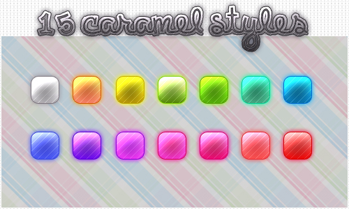 15 Caramel styles by burexdesigns