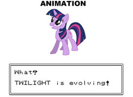 ANIMATION: Twilight is Evolving! by HatBulbProductions