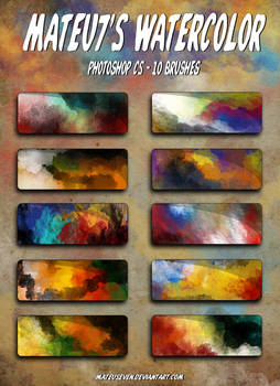 Mateu7's Watercolor Brushes
