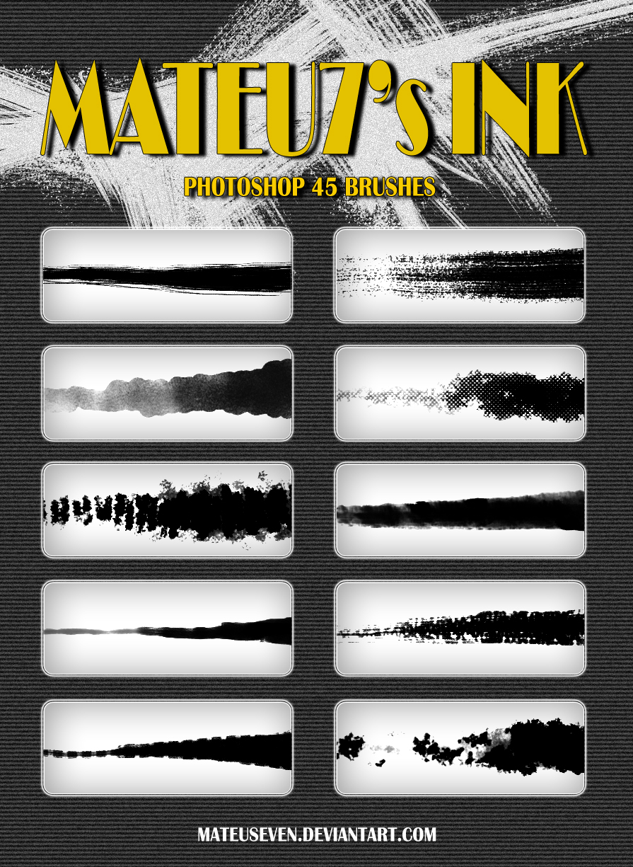 Mateu7's Ink Brushes