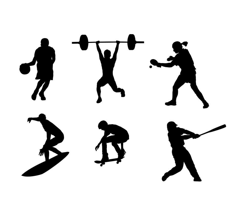 Sport_silhouettes by orginaljun
