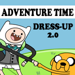 ADVENTURE TIME - DRESS-UP by MessaMessner