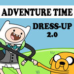 ADVENTURE TIME - DRESS-UP