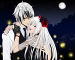 Lysandre and Angel PV GIF (Vampire?)