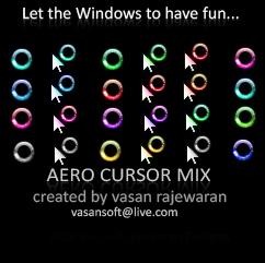 Windows 7 Remixed Cursors by VasanRajeswaran