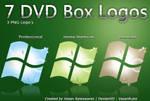 7 DVD Box Logos