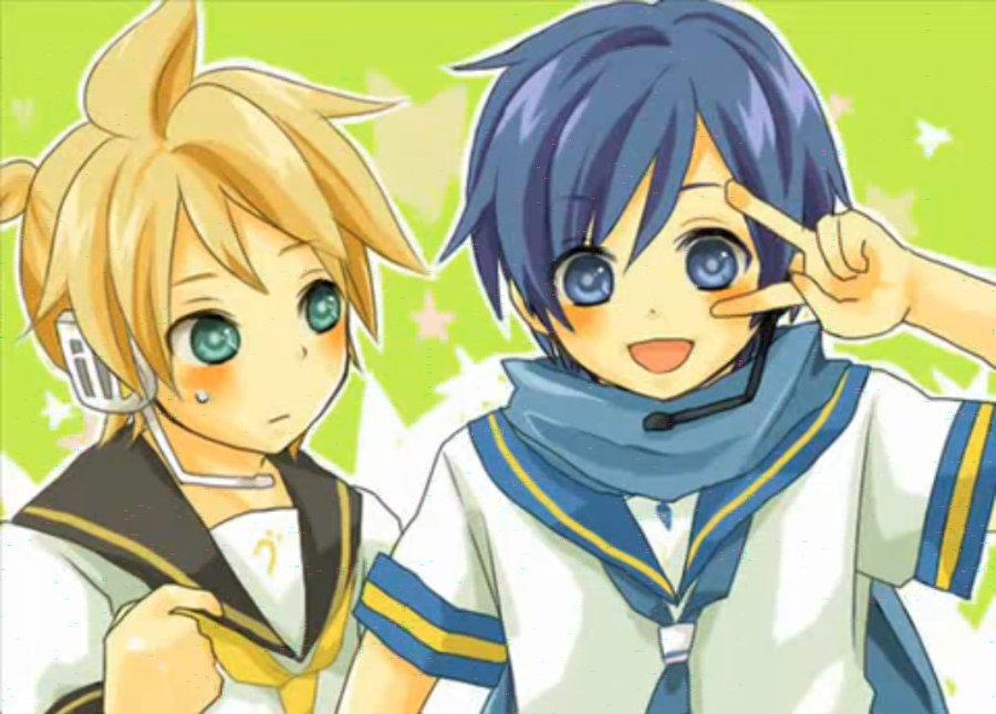 Kaito x Reader x Len -...