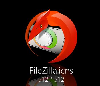 FileZilla-icon-Ptera by Davomin