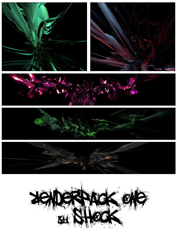 C4D RenderPack 1 by JDLuxe