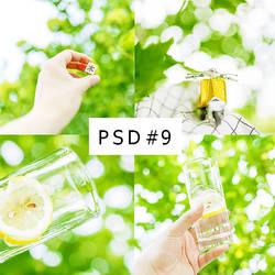 PSD#9 By Ri by phuonganh179