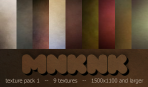 mnknk texture pack 1 by mailart-org