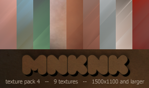 mnknk texture pack 4 by mailart-org