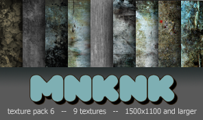 mnknk texture pack 6 by mailart-org