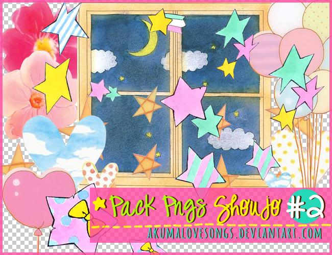Pack 2 Pngs Shoujo by akumaLoveSongs