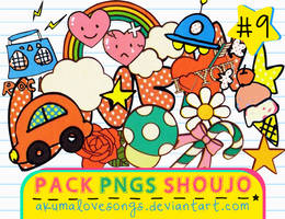 Pack 9 Pngs Shoujo
