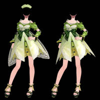 Rigged Atelier Outfit #1 DL by okkaruto