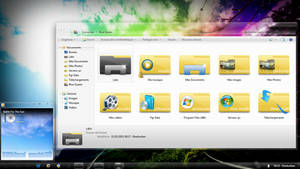 Windows Yellow folders reborn by sharkurban