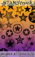 StarStruck Brush Set by jennatalia