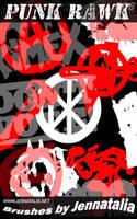 Punk Rawk Brush Set by jennatalia