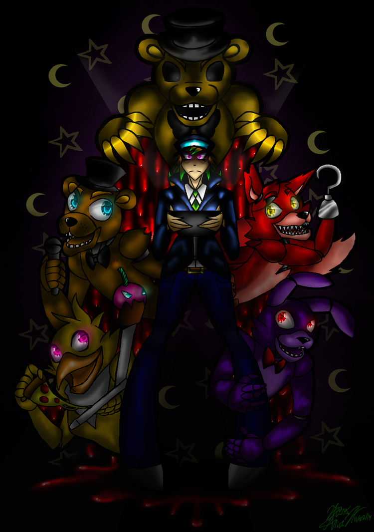 Five Nights at Freddy's by maryalice21