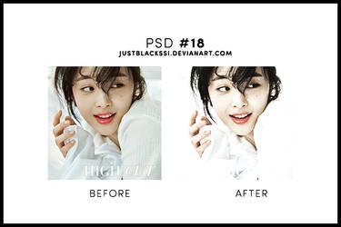 PSD #18 by justblackssi by justblackssi