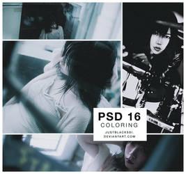 PSD clr 16  by justblackssi by justblackssi