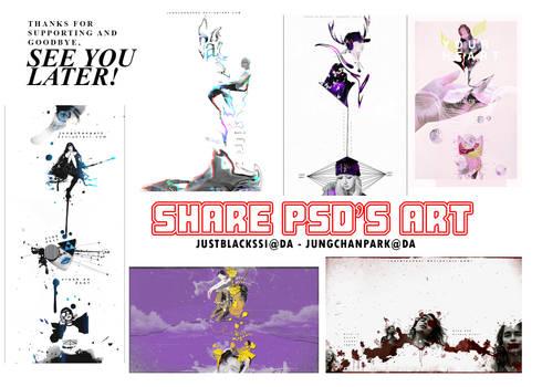 SHARE PSD'S ART