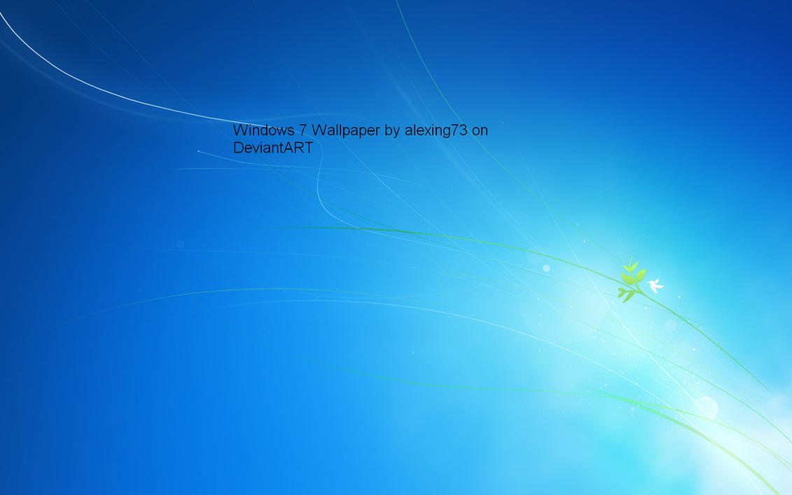 Windows 7 Default Wallpapers By Alexing73