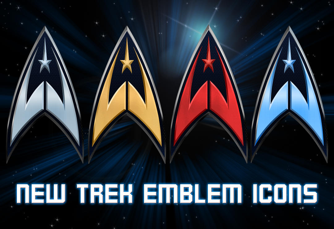 New Trek Emblem Icons by Retoucher07030