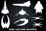 BSG Vector Ship Shapes