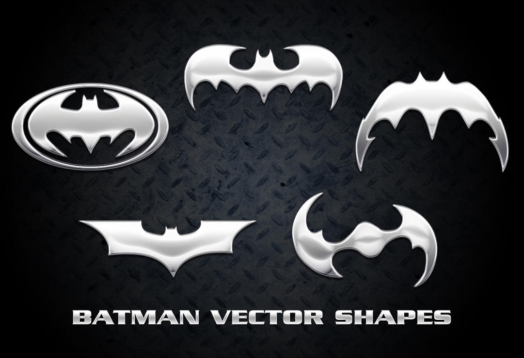 Batman Vector Shapes by Retoucher07030
