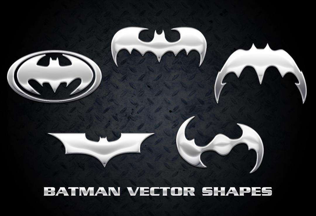 Batman Vector Shapes by Retoucher07030