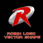 Robin Logo Vector Shapes by Retoucher07030