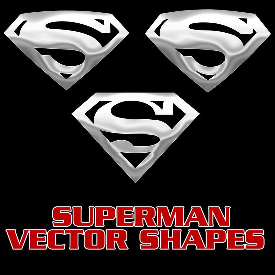 superman vector shapes by retoucher07030 on deviantart