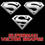 Superman Vector Shapes