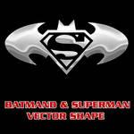 Batman Superman Combo Shape
